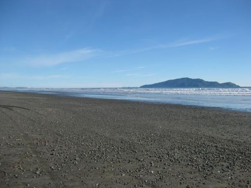 Looking south to Kapiti Island
